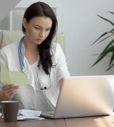 Assegno per il lavoro | Segretaria di studio medico